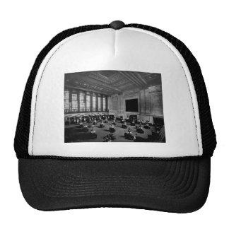 Interior New York Stock Exchange Lower Manhattan Cap