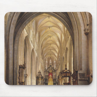 Interior of a Church, 1840 Mouse Pad