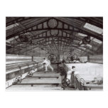 Interior of a Cotton Mill Postcard