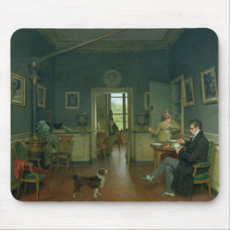 Interior of a Dining Room, 1816 Mouse Pad