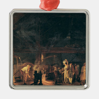 Interior of a Forge, 1771 Christmas Ornament