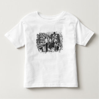 Interior of a French railway postal wagon Toddler T-Shirt