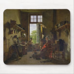 Interior of a Kitchen, 1815 Mouse Mat