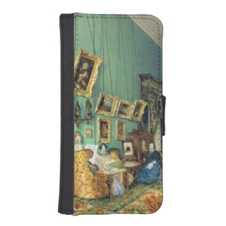 Interior of a living room, 1847 iPhone 5 wallet case