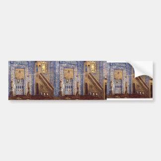 Interior of a Mosque by Jean-Leon Gerome Bumper Sticker