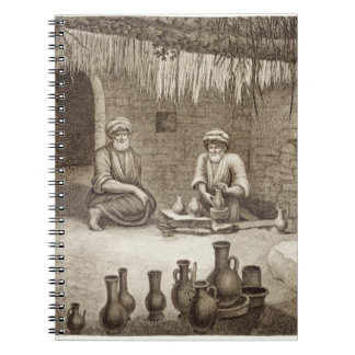 Interior of a Potter's Workshop, from Volume II Ar Notebook