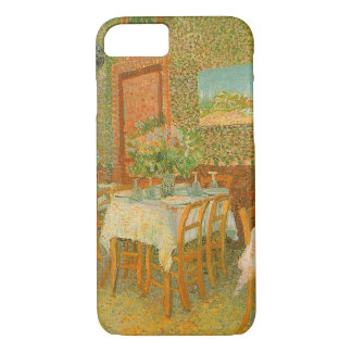 Interior of a Restaurant by Vincent van Gogh iPhone 7 Case