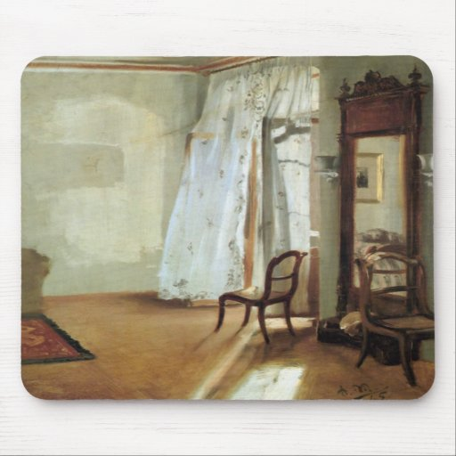 Interior of a Room with Balcon Mouse Pad