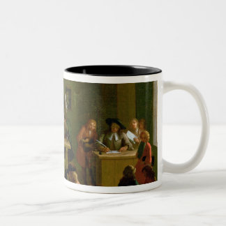 Interior of a Schoolroom Two-Tone Coffee Mug