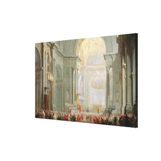 Interior of a St. Peter's, Rome Canvas Print