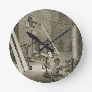 Interior of a Weaver's Workshop, from Volume II Ar Wall Clock