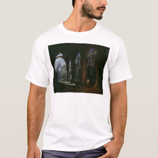 Interior of an Abbey in Ruins, 1848 T-Shirt