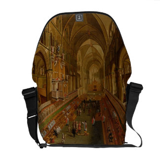 Interior of Canterbury Cathedral, c.1675-1700 (oil Commuter Bags