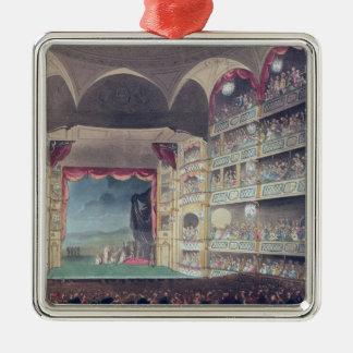 Interior of Drury Lane Theatre, 1808 Christmas Ornament