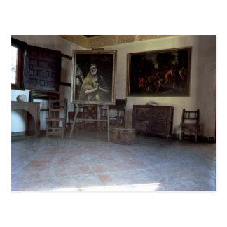 Interior of El Greco's  studio Post Cards