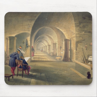 Interior of Fort Nicholas, plate from 'The Seat of Mouse Pad