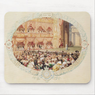 Interior of Her Majesty's Theatre, close of the se Mouse Mat