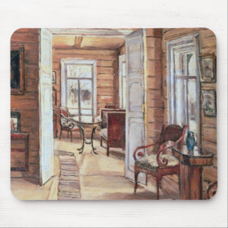 Interior of L. Panteleev's house in Murmanov Mouse Mat