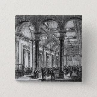 Interior of Lloyd's of London 15 Cm Square Badge