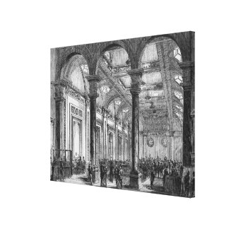 Interior of Lloyd's of London Canvas Print