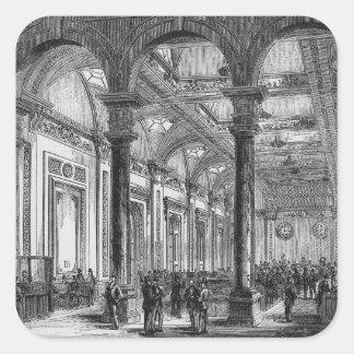 Interior of Lloyd's of London Square Sticker