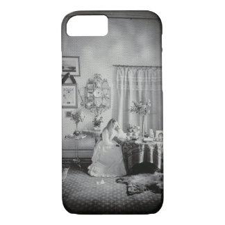 Interior of Muckross House, c.1865 (albumen ) iPhone 8/7 Case