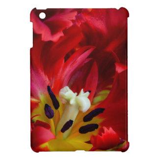 Interior of parrot tulip flower iPad mini cases