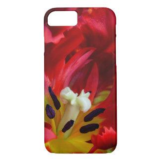Interior of parrot tulip flower iPhone 8/7 case