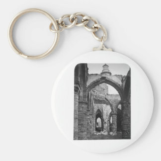 Interior of St Mathieu France 1856 Keychains