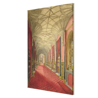Interior of St. Michael's Gallery, from 'Graphic a Canvas Print