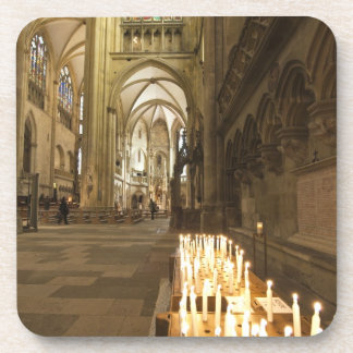 Interior of St. Peter's Cathedral in Regensburg Coaster