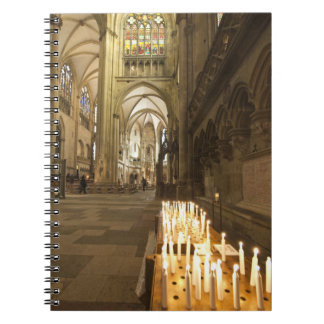 Interior of St. Peter's Cathedral in Regensburg Notebooks