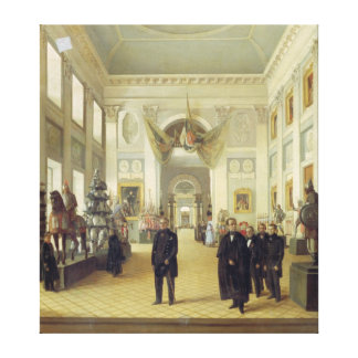 Interior of the Armoury Chamber in the Kremlin Canvas Print