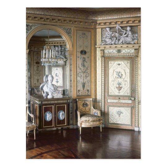 Interior of the boudoir of Marie Antoinette Postcard