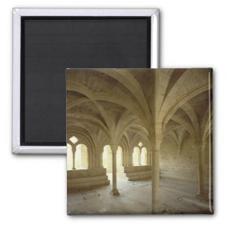 Interior of the Chapter House, 12th-13th century Fridge Magnet