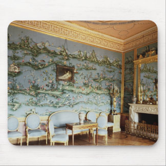 Interior of the Chinese Blue Drawing Room Mouse Pad