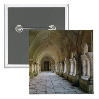 Interior of the cloister 2 15 cm square badge