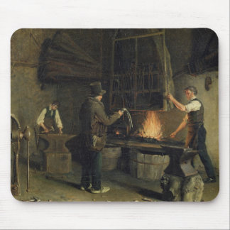 Interior of the Forge, 1837 Mouse Mat