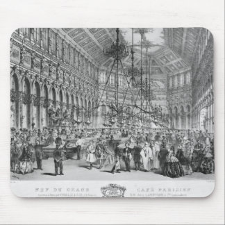 Interior of the 'Grand Cafe Parisien', Paris Mouse Pad