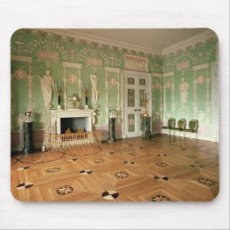 Interior of the Green Dining Room Mouse Pad