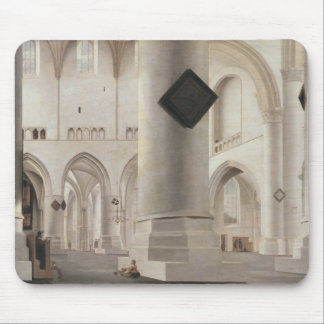 Interior of the Grote Kerk, Amsterdam, c.1637 Mouse Mat