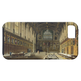 Interior of the Hall of Christ Church illustratio iPhone 5 Cases