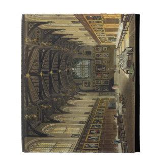 Interior of the Hall of Christ Church illustratio iPad Folio Case