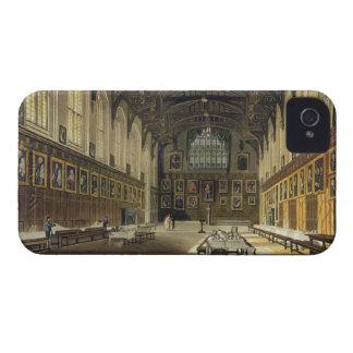 Interior of the Hall of Christ Church, illustratio iPhone 4 Case