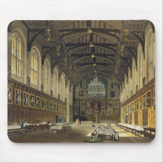 Interior of the Hall of Christ Church, illustratio Mouse Mat