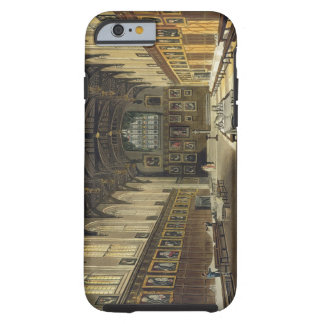Interior of the Hall of Christ Church, illustratio Tough iPhone 6 Case
