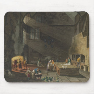Interior of the Kitchen, Trinity Cambridg Mouse Mat