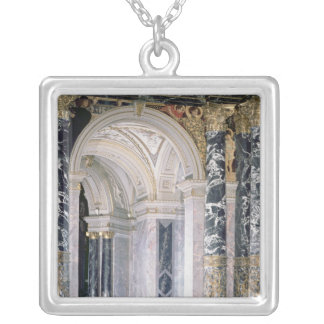 Interior of the Kunsthistorisches Museum Silver Plated Necklace