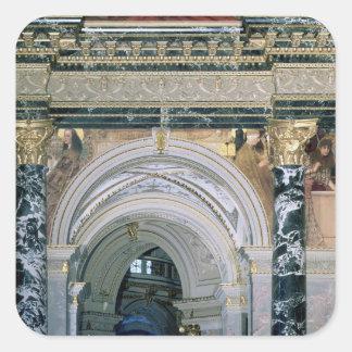 Interior of the Kunsthistorisches Museum Sticker