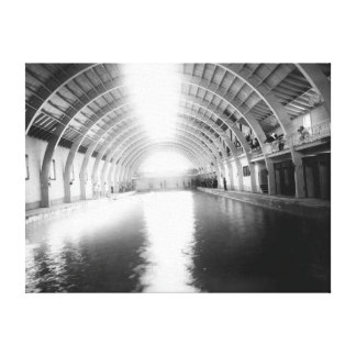Interior of the Largest Plunge Bath Canvas Print